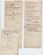 Foix, Labastide De Sérou,an 9, 10, Tribunal, 3 Docs, Dominiqur Tremege, Fuite, Négligence, Maison D'arrêt, Mandat De Dép - Documents Historiques