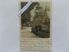 Gruss Aus Herrenalb, Paradies, Klosterruine, Kirche, Gel. 1900 - Germania