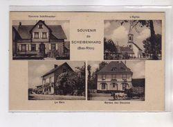 Souvenir De SCHEIBENHARD - Très Bon état - Autres Communes