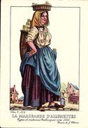 Types Et Costumes Brabançons Vers 1835, Dessins De James Thiriar : La Marchande D'Allumettes. CPSM. - België