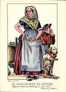 Types Et Costumes Brabançons Vers 1835, Dessins De James Thiriar : La Marchande De Moules. CPSM. - België