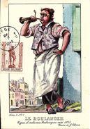 Types Et Costumes Brabançons Vers 1835, Dessins De James Thiriar : Le Boulanger. CPSM. - Belgique
