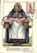 Types Et Costumes Brabançons Vers 1835, Dessins De James Thiriar : La Marchande D'Oeufs. CPSM. - België