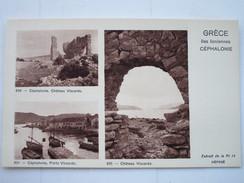 CEPHALONIE Iles Ioniennes  - Planche Pédagogique - Grèce