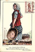 Types Et Costumes Brabançons Vers 1835, Dessins De James Thiriar : La Harengère. CPSM. - België