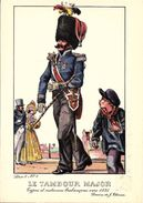 Types Et Costumes Brabançons Vers 1835, Dessins De James Thiriar : Le Tambour Major. CPSM. - België