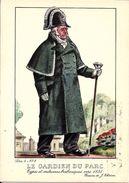 Types Et Costumes Brabançons Vers 1835, Dessins De James Thiriar : Le Gardien Du Parc. CPSM. - Belgique