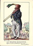 Types Et Costumes Brabançons Vers 1835, Dessins De James Thiriar : La Grande Harmonie. CPSM. - Lots, Séries, Collections