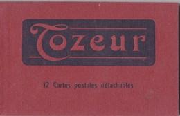 Carnet Complet De 12 Cartes Postales De Tozeur (Tunisie)  Etat Neuf Cachet Du Syndicat D'initiatives      Ed AR - Tunesië
