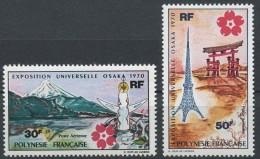 "Polynésie Aerien Yt 32 & 33 (PA 32 & 33) "" Expo D'Osaka "" 1970 Neuf** - Airmail"