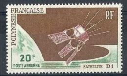 "Polynésie Aerien YT 19 (PA) "" Satellite D1 "" 1966 Neuf** - Airmail"