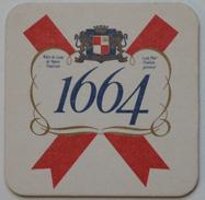 Sous-bock 1664 KRONENBOURG Bierdeckel Bierviltje Coaster (CX) - Sous-bocks