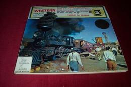 HISTOIRE DU WESTERN  COW BOYS ET PETIT ECRAN   °°  3 / 45 TOURS - Soundtracks, Film Music