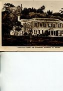 (434) Very Old Postcard - St Helena Governor Hous - Saint Helena Island