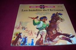 LES BANDITS DE L'ARIZONA  ° LIVRE DISQUE PHILIPS AVEC JEAN ROCHEFORT / CLAUDE DASSET / ROGER CARREL ++++ - Country & Folk