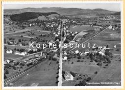 CH - Eschlikon B. Münchwilen TG - Fliegeraufnahme Mit Bahnhof - TG Thurgau