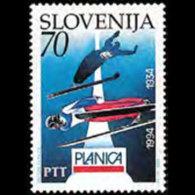 SLOVENIA 1994 - Scott# 192 Ski Jumping Set Of 1 MNH - Slovénie