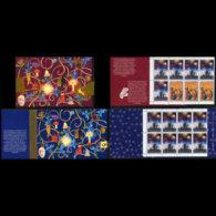 SLOVENIA 1999 - Scott# 365a-7a Booklets-Christmas MNH - Slovénie