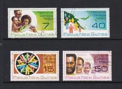Papua New Guinea SG 389-392 1980 National Census Used Set - Papua New Guinea