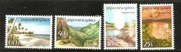 Papua New Guinea SG 491-494 1985 Scenic Views MNH - Papua New Guinea