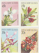Papua New Guinea SG 531-534 1986 Orchids MNH - Papua New Guinea