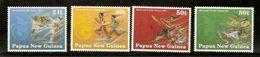 Papua New Guinea SG 651-654 1991 South Pacific Games MNH - Papua New Guinea