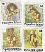 Papua New Guinea SG 700-703 1994 Huon Tree Kangaroo MNH - Papouasie-Nouvelle-Guinée