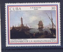 CUBA 1983  ALLIANCE FRANCAISE-BATEAUX  YVERT N°2450  NEUF MNH** - Cuba
