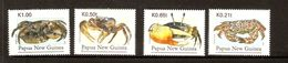 Papua New Guinea SG 772-775 1995 Crabs MNH - Papua New Guinea