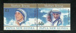 Papua New Guinea SG 830-831 1998 Mother Teresa MNH - Papua New Guinea