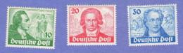 BER SC #9N61-3 MNH 1949 Johann Von Goethe CV $240.00 - [5] Berlin