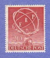 BER SC #9N68 MNH 1950 European Recovery Plan CV $75.00 - Unused Stamps