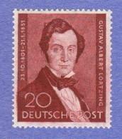 BER SC #9N69 MNH 1951 Albert Lortzig, Composer CV $45.00 - Unused Stamps