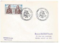 OBLITERATION JOURNEE CULTURELLE NAPOLEONIENNE à FONTAINEBLEAU SEINE ET MARNE 1974 - Commemorative Postmarks