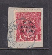 New Guinea SG 67a 1915-16 KGV 1d Red Used - Papua New Guinea
