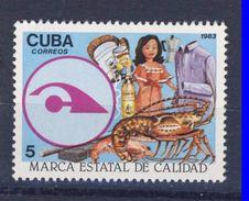 CUBA 1983 LABEL DE QUALITE  YVERT N°2458   NEUF MNH** - Cuba