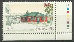 Canada  - 1987 Capex '87 36c MNH **   Sc 1123 - 1952-.... Reign Of Elizabeth II