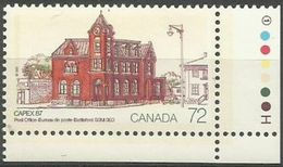 Canada  - 1987 Capex '87 72c MNH **   Sc 1125 - 1952-.... Reign Of Elizabeth II