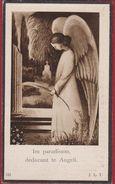 Maurits Petrus De Smet Hoogewijs Zele 1931 1940 Engelenmis Zoontje Kind Enfant Engel Ange Doodsprentje Image Mortuaire - Images Religieuses