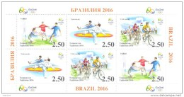 2016. Olympic Games Rio-de-Janeiro, S/s Perforated, Mint/** - Summer 2016: Rio De Janeiro