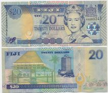 FIJI       20 Dollars       P-107a        ND (2002)        UNC - Fidji