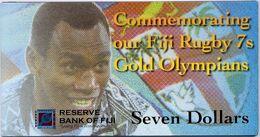 FIJI       7 Dollars       Comm.       P-New        ND (2017)        UNC  [ WITH FOLDER ] - Fidji