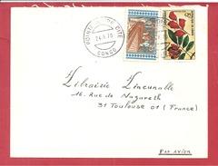 Y&T N°248+271 POINTE NOIRE   Vers  FRANCE 1970 - Congo - Brazzaville
