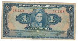 Nicaragua 1 Cordoba 1945, Crisp VF. - Nicaragua