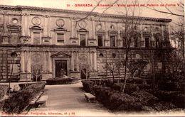 GRANADA - Alhambra - Vista General Dal Palacio De Carlos V - Granada