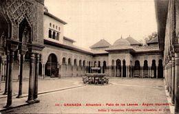 GRANADA - Alhambra - Patio Des Los Leones - Angulo Izquierdo - Granada