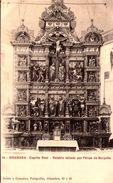 GRANADA -  Capilla Real - Retablo Tallado Por Felipe De Borgoña - Granada