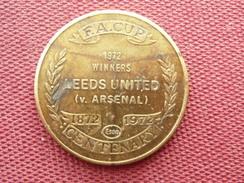 GRANDE BRETAGNE  Médaille LEEDS UNITED - Royaume-Uni
