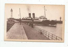 Cp , Bateaux , La MALLE Entrant Au Port , 76 , DIEPPE , Vierge , Ed : LL ,n° 322 - Commerce