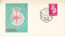 Argentina 1958 Ano Geofisico Internacional 1v FDC (36242) - FDC